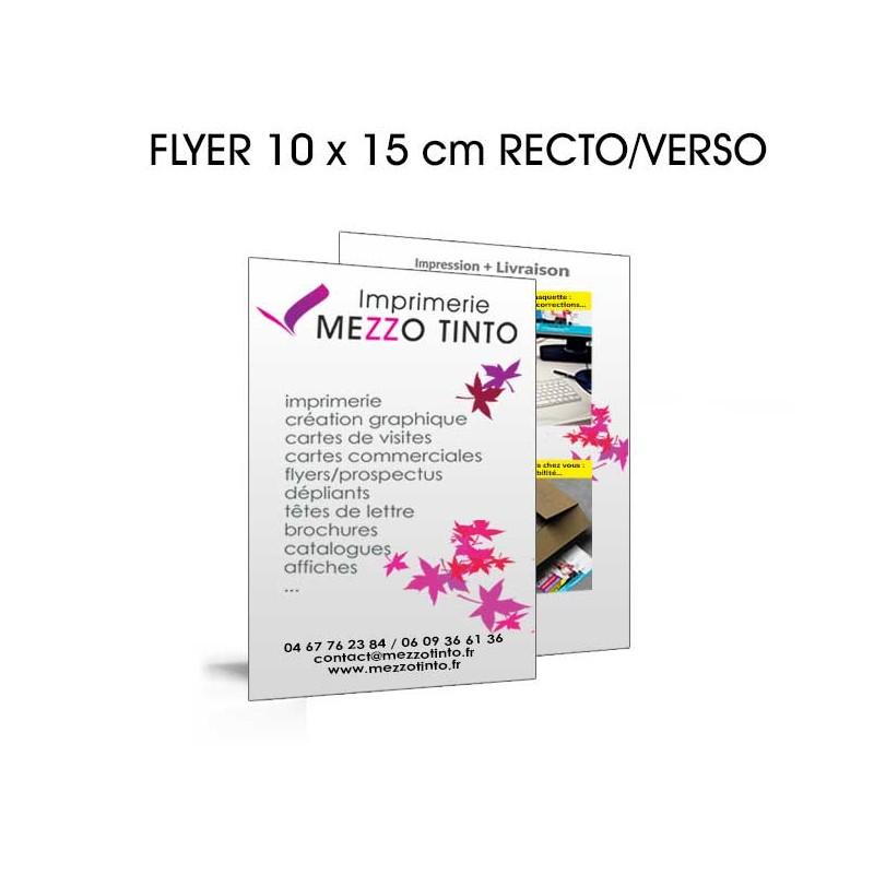 Flyer 10 X 15 Cm