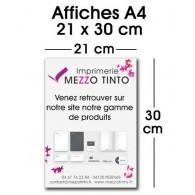 Affiche A4