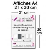Affiche 21 x 29,7 cm - A4