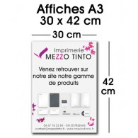 AFFICHE 30 X 42 cm