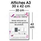 Affiche 30 x 42 cm - A3