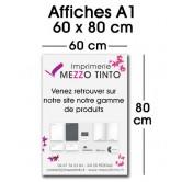 Affiche 60 x 80 cm - A1