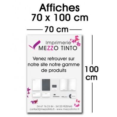 AFFICHE 70 X 100 CM
