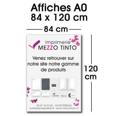 AFFICHE 84 x 120 cm - A0