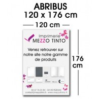 "AFFICHE ""ABRIBUS"" 120 x 176 cm"