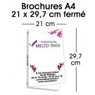 BROCHURES 21 x 29,7 cm - Visuel