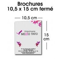 BROCHURE 10,5 x 15 cm - Avec couverture