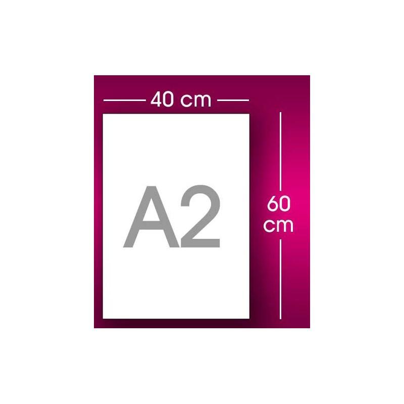 Impression affiche fluo 40 x 60 cm a2 avec mezzotinto for Kuchenschrank 40 x 60