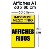 Affiche fluo A1 (60 x 80 cm)