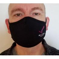 Masque tissu Noir - Visuel