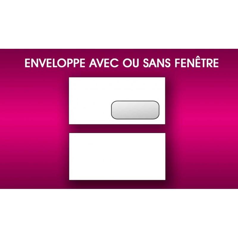 Impression d 39 enveloppes d 39 entreprise avec ou sans fen tre for Enveloppe c4 avec fenetre