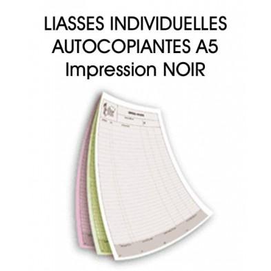 Liasses autocopiantes A5 - Imp. Noir