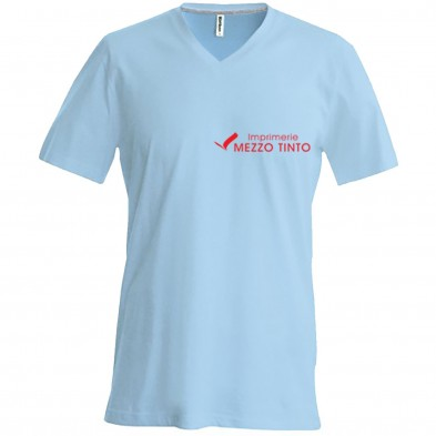 Tee-shirt Homme Col V