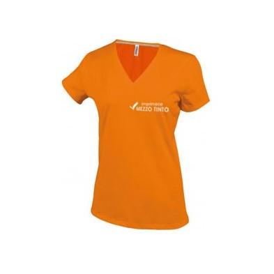 Tee-shirt Femme Col V