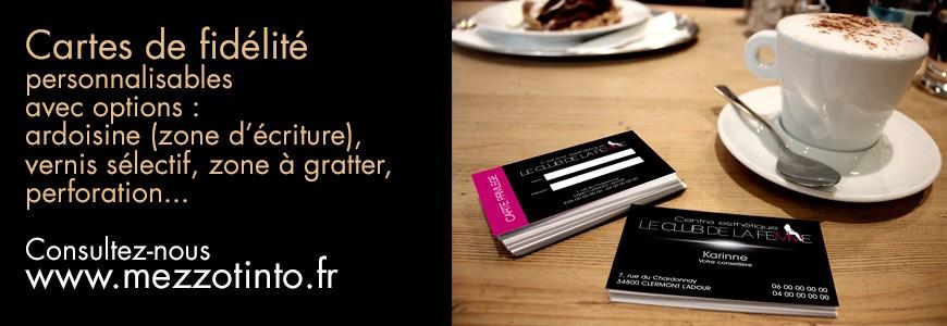 Chouchoutez vos clients en leur offrant des cartes de fidélité !