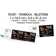 Billetterie / Tombola